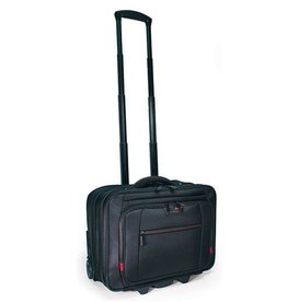 "Mobile Edge Mobile Edge Professional Rolling Laptop Case 17.3"" - Black"