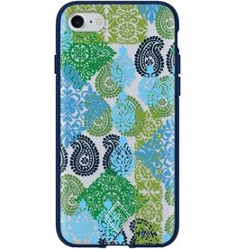 Vera Bradley Vera Bradley FlexFrame Case for iPhone 7 - Carribean Sea Multi/Blue/Clear