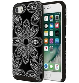 Vera Bradley Vera Bradley Hybrid Case for iPhone 7 - Blanco Bouquet Black/Cream