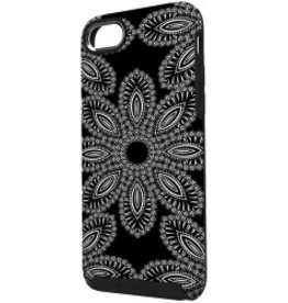 Vera Bradley Vera Bradley Hybrid Case for iPhone 7 Plus - Blanco Bouquet Black/Cream