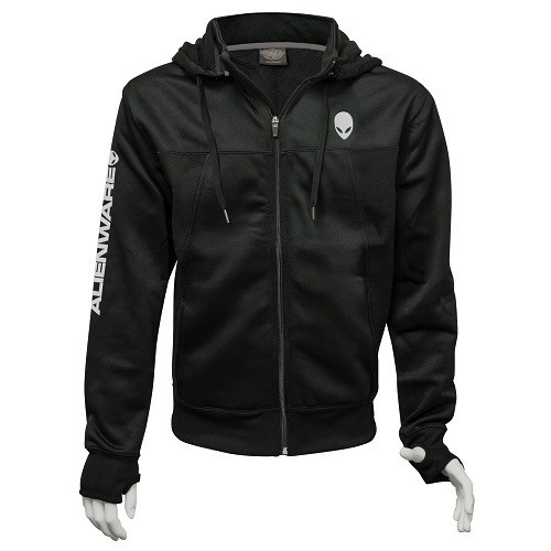 Alienware Alienware Poly-Tech Zip Hoodie Black - Medium