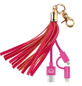 HyperGear HyperGear Charging Cable Tassel - Pink