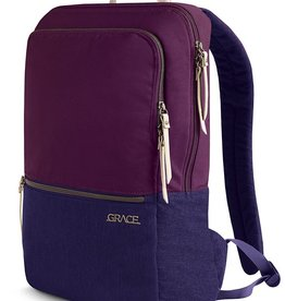 "STM STM Grace Backpack 15"" - Dark Purple"