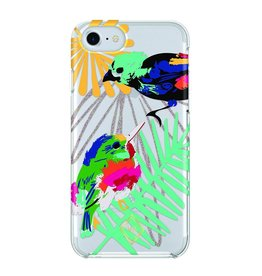 Vera Bradley Vera Bradley FlexFrame Case for iPhone 7 - Mini Birds/Multi/Glitter