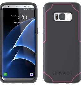 Griffin Griffin Survivor Strong Case for Samsung Galaxy S8 - Gray/Pink