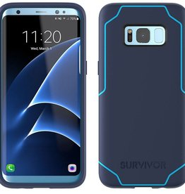 Griffin Griffin Survivor Strong Case for Samsung Glaxaxy S8+ - Navy/Coral