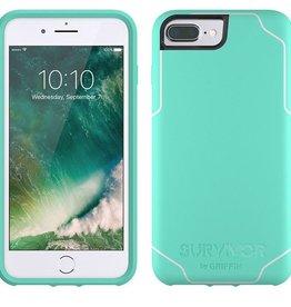 Griffin Griffin Survivor Journey Case for iPhone 7 Plus - Mint/White