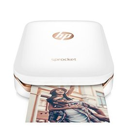 HP HP Sprocket Photo Portable Zink Photo Printer BT - White