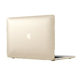 "Speck Speck SmartShell Case for MacBook 13"" w/ TB - Clear w/ Gold Glitter"