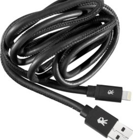 OnHand OnHand Leather Lightning Cable 5FT - Black