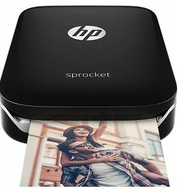 HP HP Sprocket Photo Portable Zink Photo Printer BT - Black