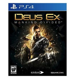 Sony PS4: Deus Ex - Mankind Divided  Day One Edition