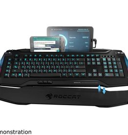 ROCCAT ROCCAT Skeltr Black Smart Communication Gaming Keyboard