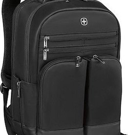 "Swiss Army Swiss Army Wenger Hedge Backpack 16"" - Black"