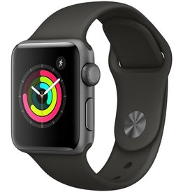 Apple MR352LL/A Apple Watch Series 3 38mm - Space Gray Aluminum Case w/ Gray Sport Band
