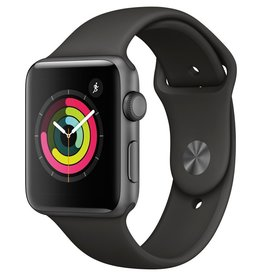 Apple MR362LL/A Apple Watch Series 3 42mm - Space Gray Aluminum w/ Gray Sport Band