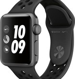 Apple MQKY2LL/A Apple Watch Series 3 38mm - Space Gray Aluminum Case N+ Black Band