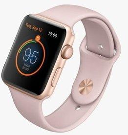 Apple MQL22LL/A Apple Watch Series 3 42MM - Gold Aluminum w/ Pink Sand Band