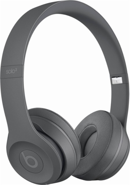 Apple MPXH2LL/A Beats Solo 3 Wireless - Asphalt Gray
