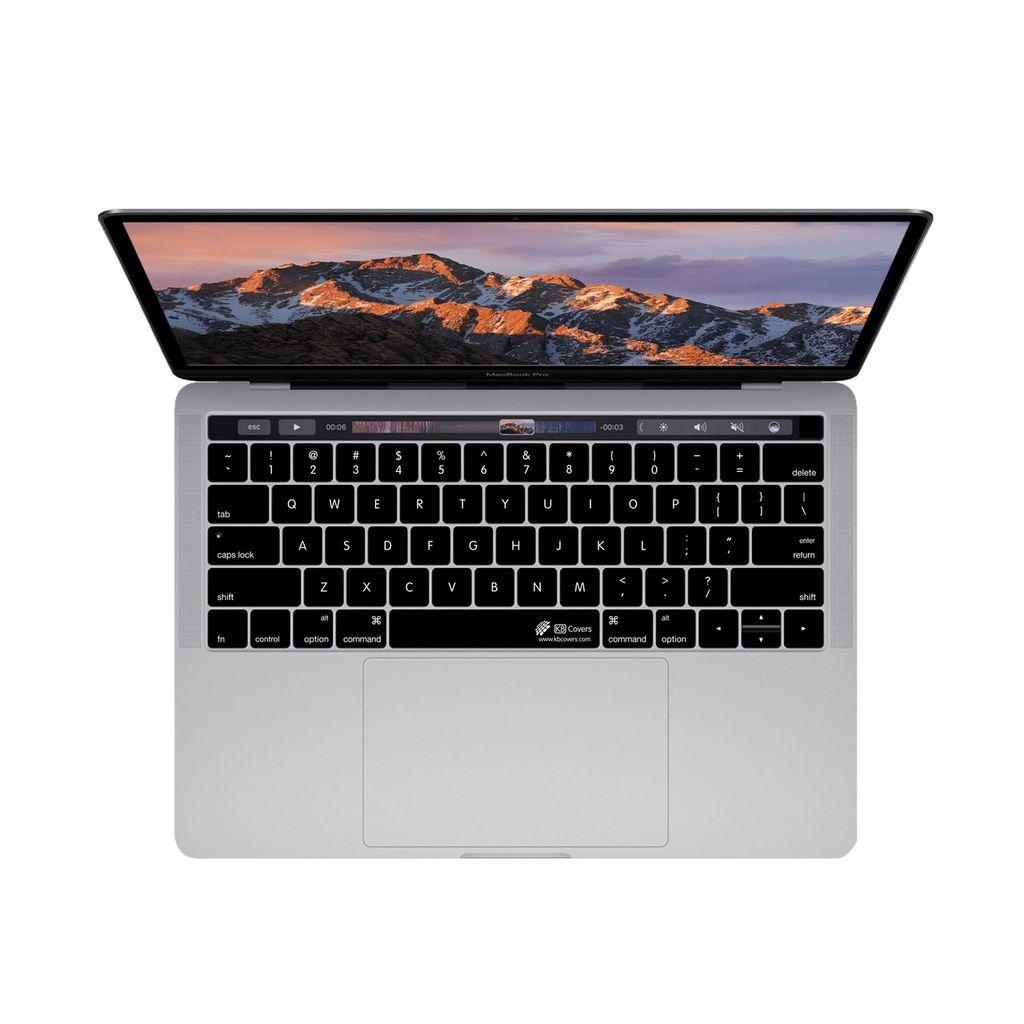 "KB Covers KB Covers MacBook Pro 13"" - 15"" w/ Touchbar - Black"