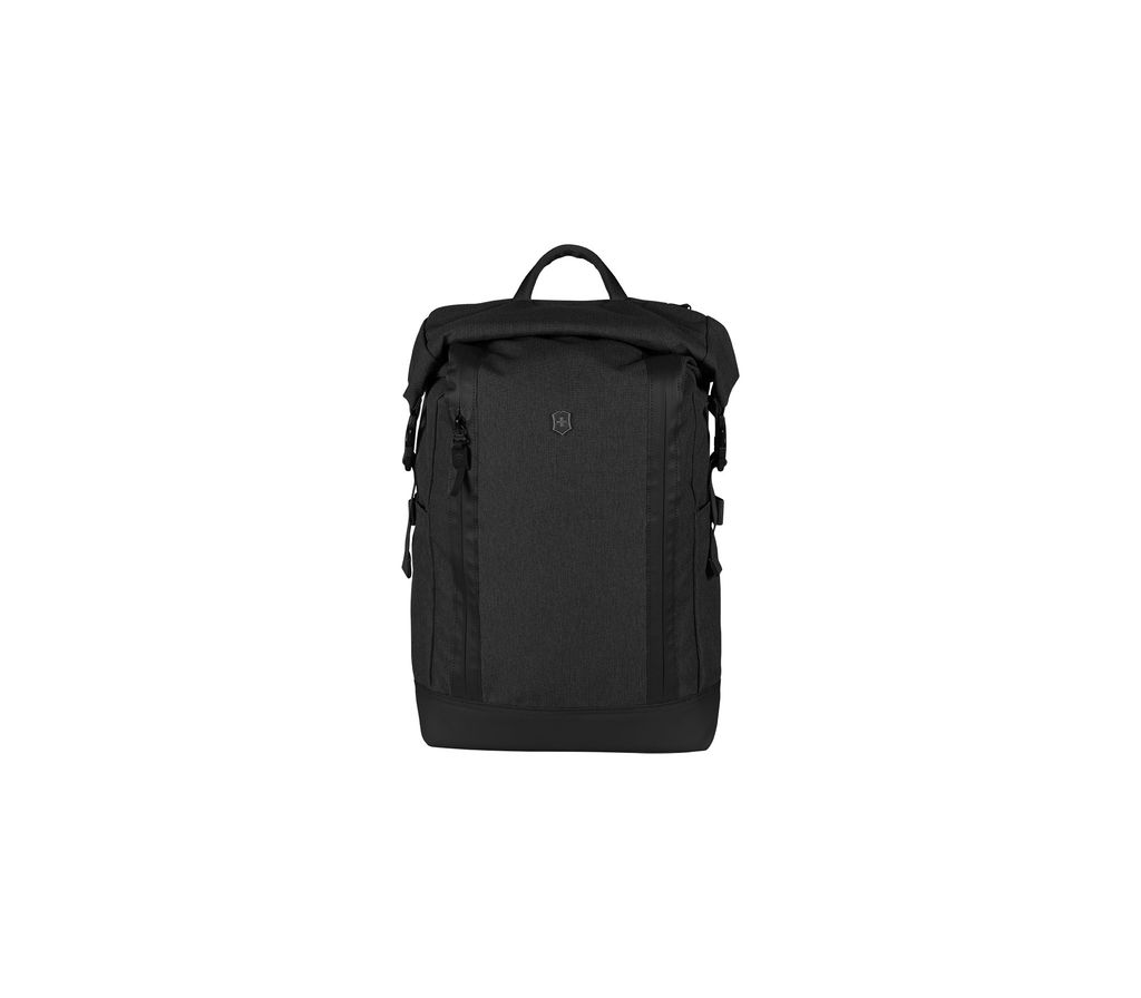 Swiss Army Altmont Classic Rolltop Backpack - Black