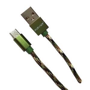 Xavier Xavier Micro-USB Camoflauge 6FT