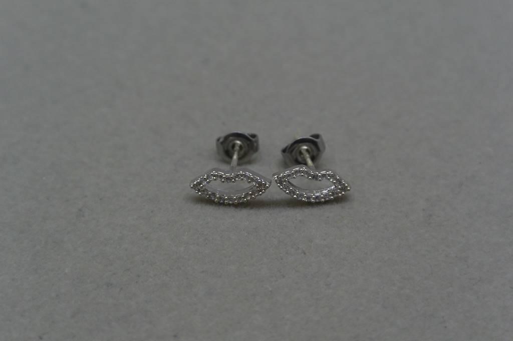 Cloverpost Lip Earrings