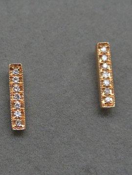 Dana Rebecca Diamond Bar Earring