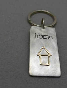 Heather Moore Home Key Chain