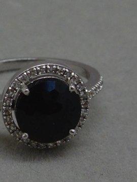 Suzanne Kalan Black Spinnel Ring