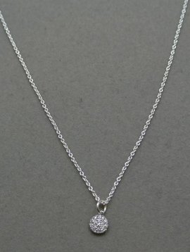 La Soula Diamond Circle Necklace