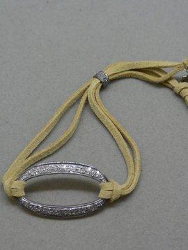 Lera Jewels Open Oval Bracelet