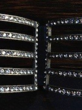 Rebel Design Crystal Bar Cuff