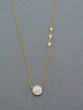 Nyla Star Sam Crystal Accent Necklace