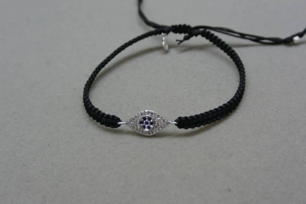 Tai Black Evil Eye Bracelet