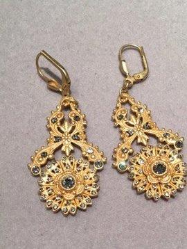 La Vie Parisienne Intricate Drop Earrings
