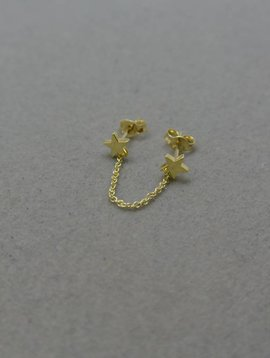 Jennifer Meyer Star Chain Earring