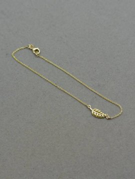 Jennifer Meyer Jennifer Meyer Mini Leaf Bracelet
