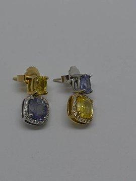 J. Hyman Sapphire Earrings