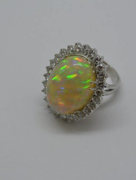 J. Hyman Ethiopian Opal ring