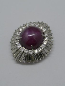 J. Hyman Star Ruby Ring