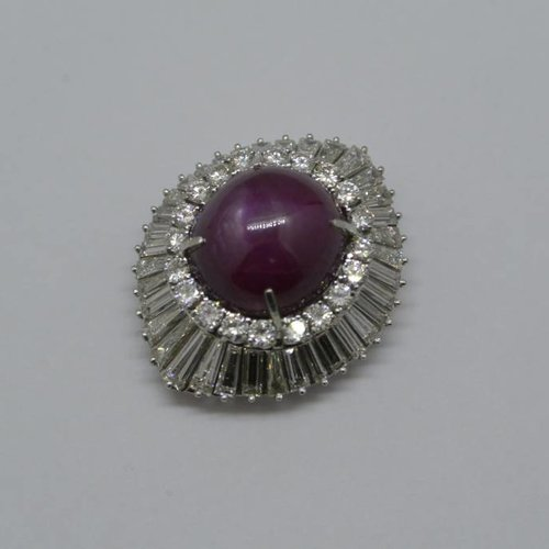 J. Hyman Star Ruby Ring