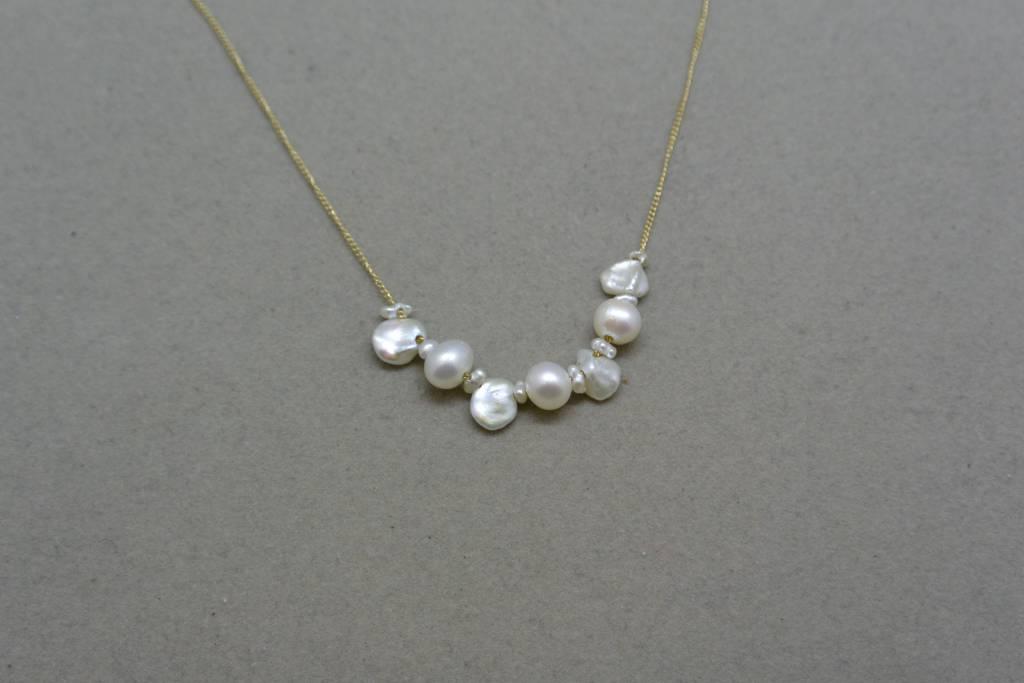 Melissa Joy Manning Natural Pearl Necklace