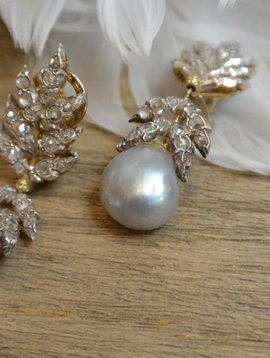 J. Hyman Buccellati Pearl Earrings