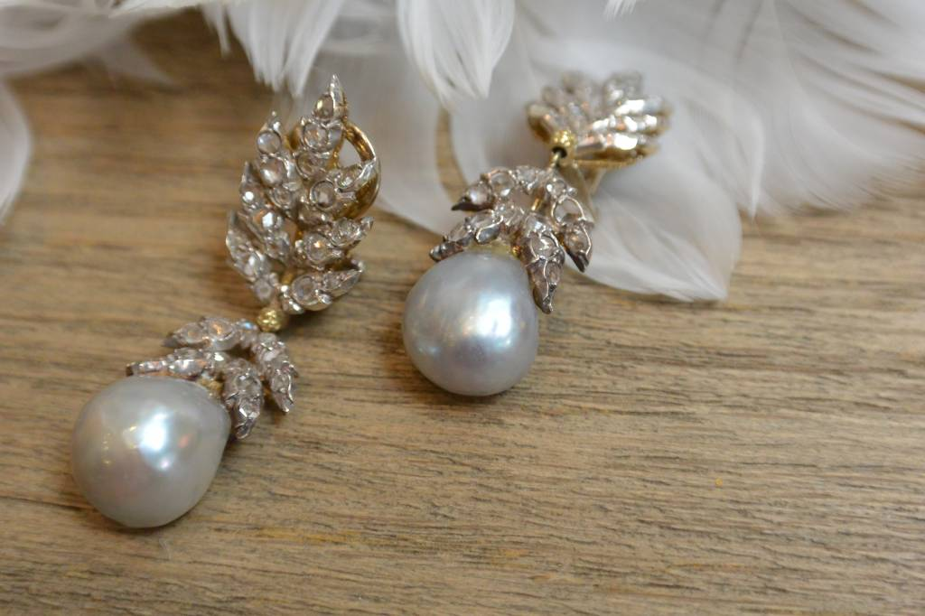 J. Hyman Buccellati Pearl Earrings