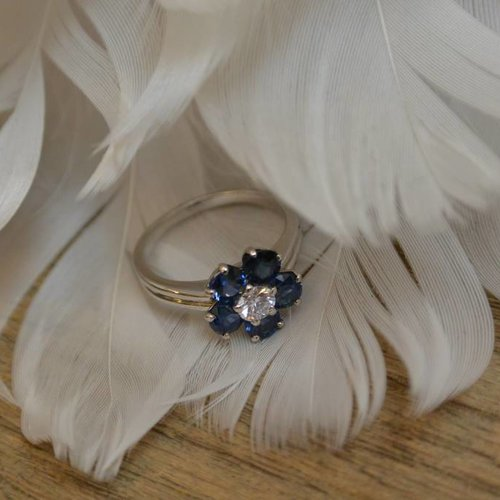 J. Hyman Cartier Flower Ring