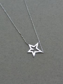 Tai Silver Star Necklace