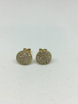 Dana Rebecca Medium Round Earrings
