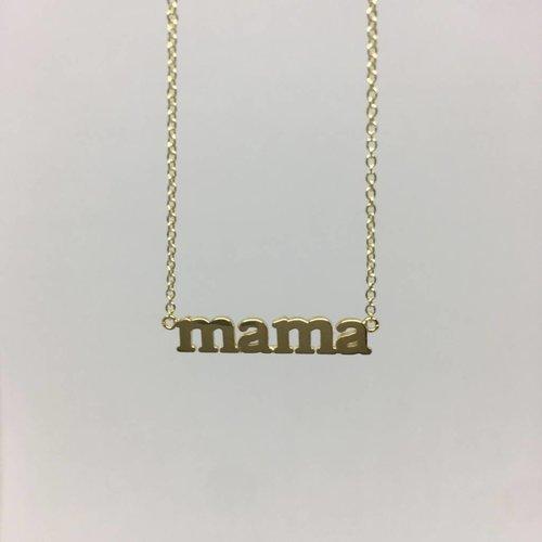 """Jennifer Meyer """"Mama"""" Necklace"""