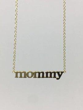 """Jennifer Meyer """"Mommy"""" Necklace"""